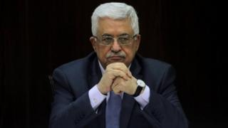 File photo of Mahmoud Abbas (2013)
