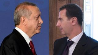 Erdoğan ve Esad