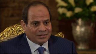 Madaxweyne Abdel-Fattah al-Sisi