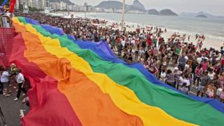 Parada Gay no Rio