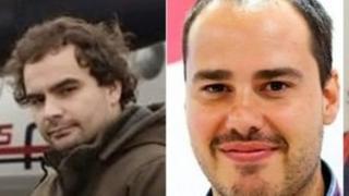 Анхель Састре та Антоніо Памплієга