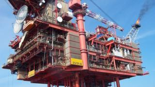 Lomond gas production platform