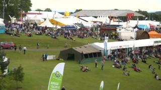 Great Yorkshire Show in Harrogate