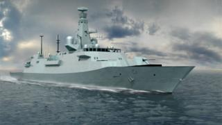 Naval ship design image