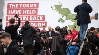 Labour Party poster launch