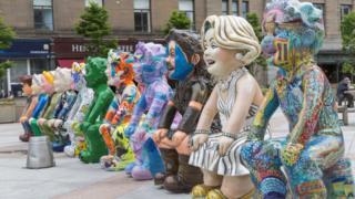 Oor Wullie sculptures