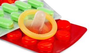 Kondom, pil