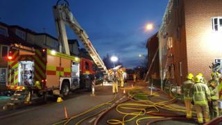 George Lambton Avenue fire