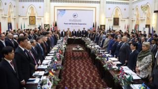 نخستین نشست پروسه کابل