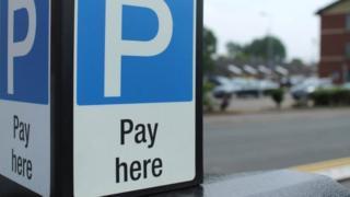 Parking sign - generic