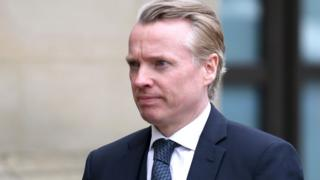 Craig Whyte arriving at High court in Glasgow
