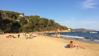 Beach in St Tropez