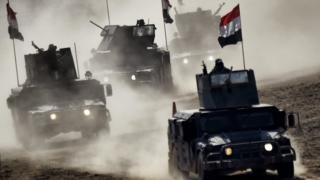 Наступление иракских войск на Мосул