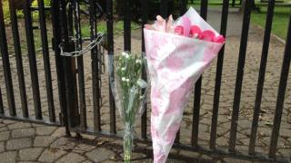 Flowers at the gates