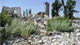 Разрушение на Донбассе имеют серьезные экологические последствия