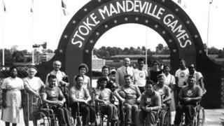 Imagen de los primeros juegos de Stoke Mandeville