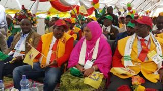 Kulanka xisbiga waxaa ka soo qeybgalay xubno ka socda xisbiga talada haya ee EPRDF