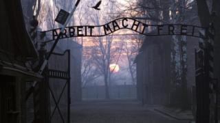 Auschwitz entrance gate