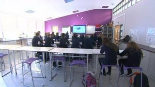 15 year old pupils in south Wales school