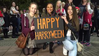 1D's final concert took place on Halloween in Sheffield