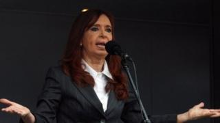 Former Argentine President Cristina Fernandez de Kirchner, May 2016