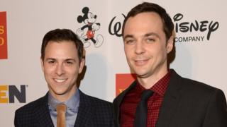 Todd Spiewak (left) and Jim Parsons