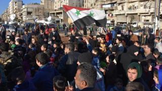 Эвакуация в Алеппо