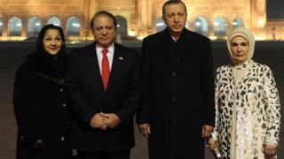 اردوغان، نواز شریف