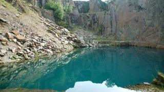 Blue Lake, Friog