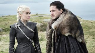 Daenarys Targaryen and Jon Snow
