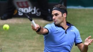 Federer yatsinze ubwa mbere ihiganwa rya Halle Open mu 2003