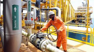 Nigerian oil worker