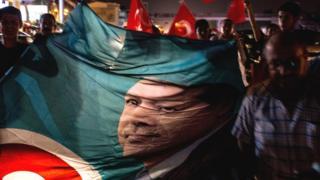 Cumhurbaşkanı Erdoğan'ın posteri