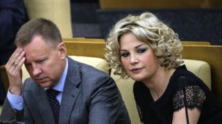 Денис Вороненков та його дружина Марія Максакова