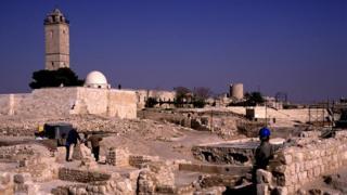Citadel in Aleppo, Syria