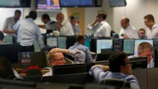 Traders react to the referendum result