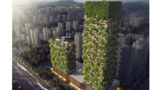 The pollution fighting forest buildings coming to china for Pollution fighting plants