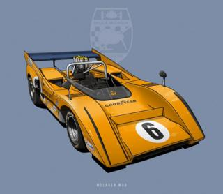 "McLaren M8D - ""Batimóvil"""