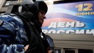 Недавно акции протеста проходили возле Госдумы России