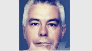 Luiz Carlos da Rocha con pelo blanco, en una foto divulgada por la policía