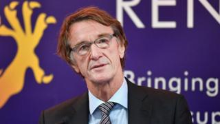 Ineos chairman and founder Jim Ratcliffe