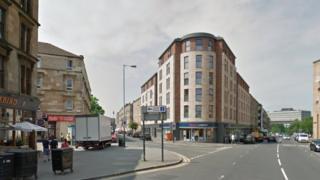 Argyle Street at Old Dumbarton Road