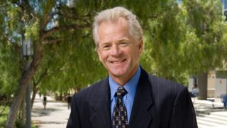 Peter Navarro, in a photo provided by University of California, Irvine