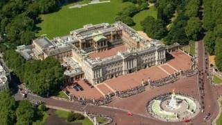 位于伦敦市中心的白金汉宫