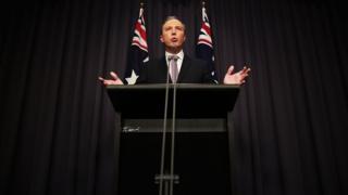 Australian Immigration Minister Peter Dutton
