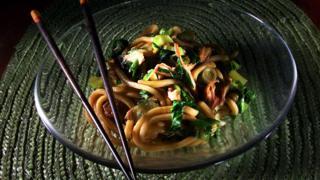noodles chopsticks