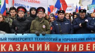 Студенты Первого казачьего университета