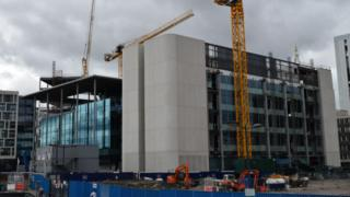 BBC Wales' new building in Cardiff's Central Square
