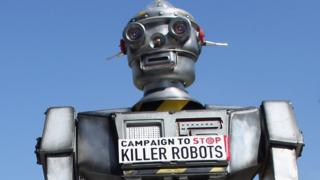 Musk warns of 'killer robot' arms race