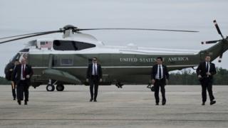 Members of di US Secret Service